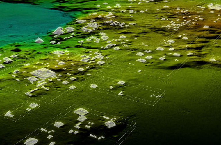В Гватемале найден затерянный «мегаполис» майя (3 фото)