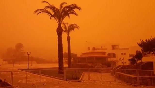 В чем особенность Африканской пыли, которая распространяется по миру с огромной скоростью?