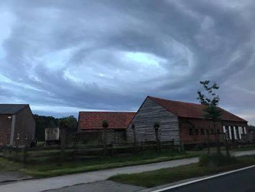 Вращающееся облако