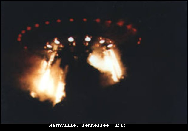 Офицер ВМС США представил фото инопланетного корабля