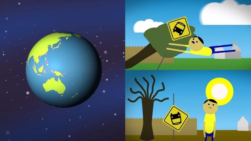 Эксперты показали последствия остановки вращения Земли (видео)