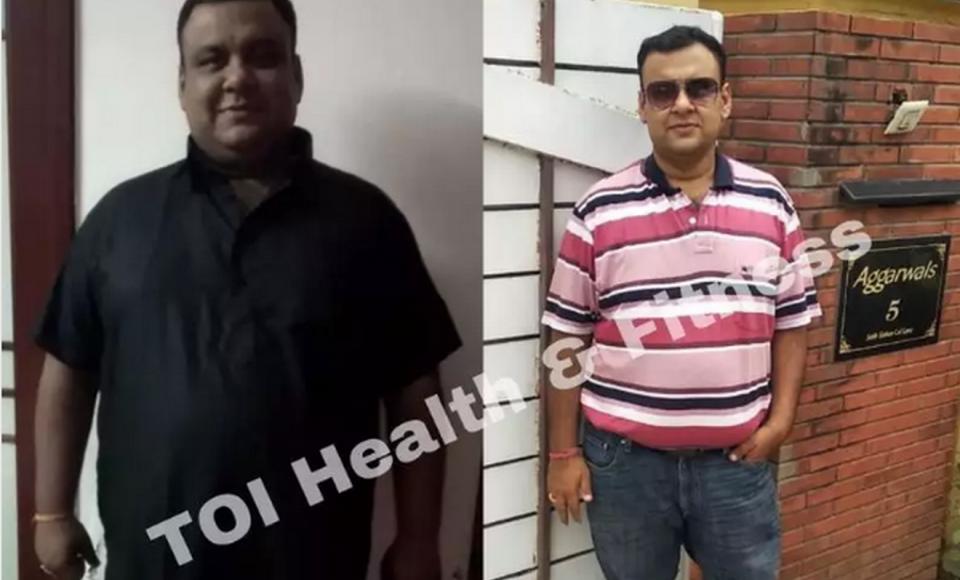 Мужчина с помощью трех правил за 7 месяцев похудел на 41 килограмм