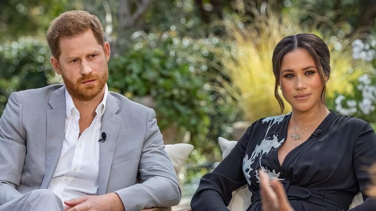 Опра Уинфри впервые прокомментировала скандальное интервью Меган Маркл и принца Гарри