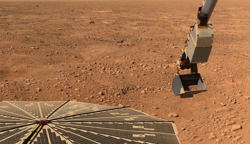 Под поверхностью современного Марса могут жить микробы