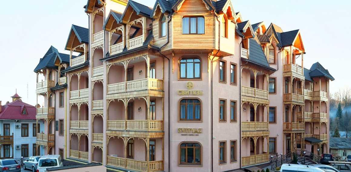 Отели Трускавца: лучшие места для семейного отдыха