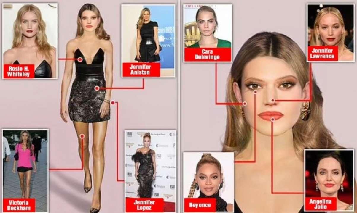 Пластические хирурги удивили Сеть, показав образ идеальной женщины