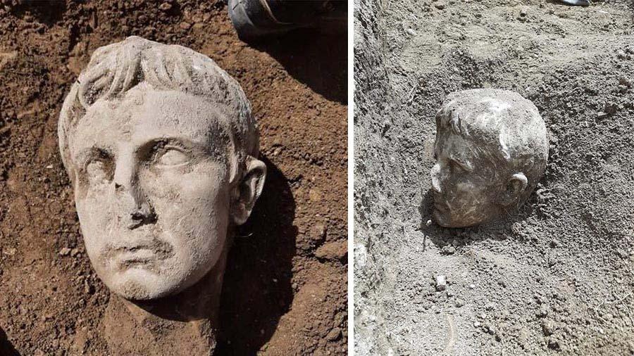 В Италии найдена мраморная голова первого императора Римской империи