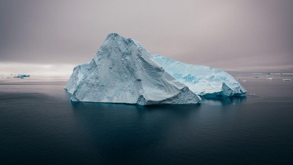 Тающие ледники Гренландии выделяют большое количество ртути