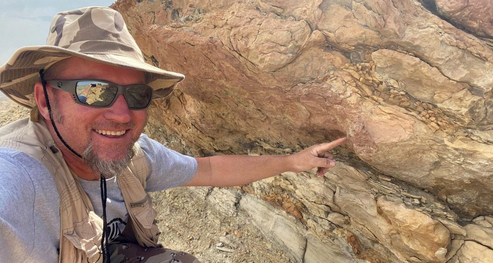Археологи нашли на берегу моря отпечатки, которым 58 миллионов лет