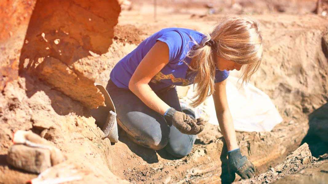 Под Харьковом обнаружили старинные артефакты из золота