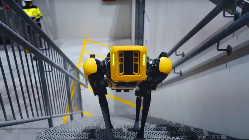 Назвала причина «увольнения» робопса Boston Dynamics из полиции Нью-Йорка