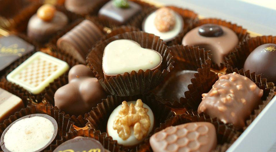 Подарочные наборы конфет от кондитерской фабрики Рахат