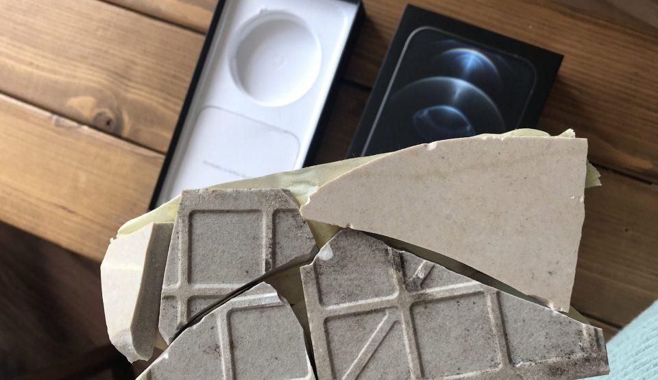 Британка заказала iPhone 12, а получила вместо него разбитую плитку