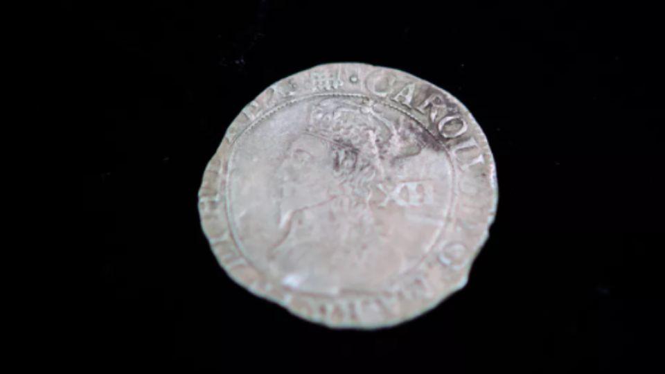 Монета с портретом Карла I помогла разгадать тайну разрушенного форта