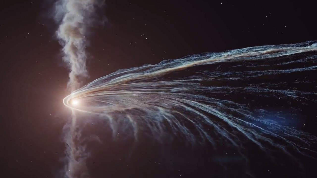 Астрономы стали свидетелями поглощения звезды черной дырой