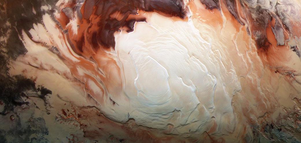 На Марсе обнаружили множество подземных «озер»