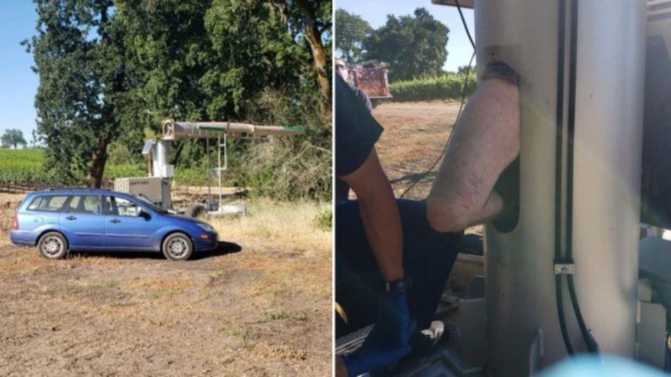 В США спасли мужчину, который два дня провел в содовом вентиляторе
