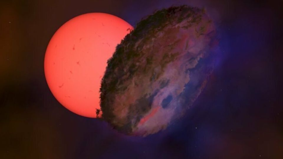 Недалеко от центра Млечного Пути нашли «мерцающую» звезду
