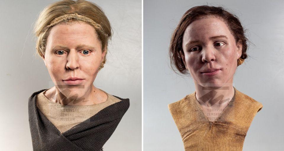 Антропологи воссоздали внешность женщин бронзового века