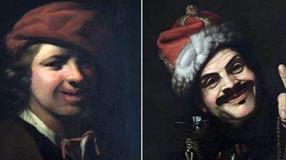 В Германии в мусорном баке нашли две картины 17 века