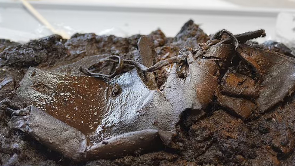 В Германии нашли кожаную обувь возрастом 2000 лет