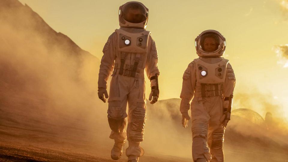 Выяснено, сколько времени человек сможет находиться на Марсе