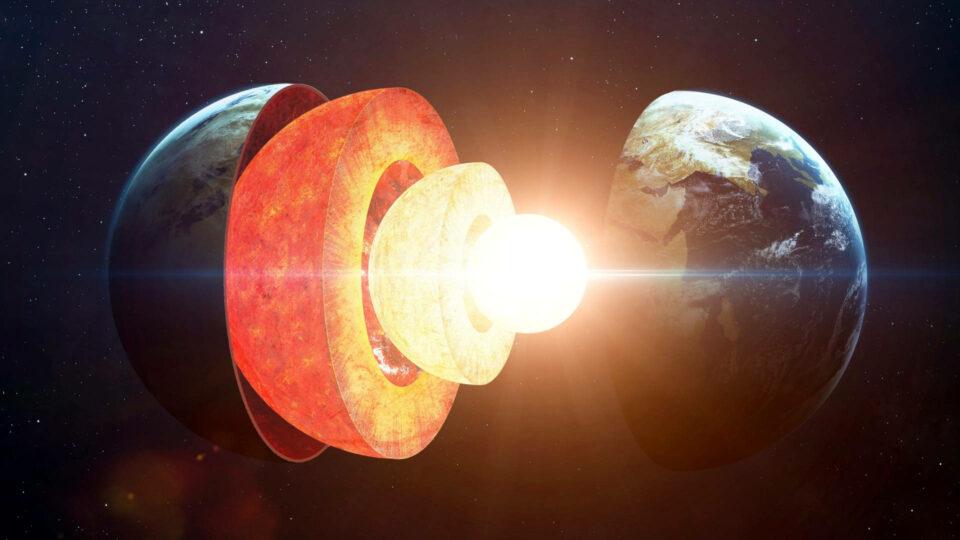 Ядро Земли на глубине 2900 км может быть не твердым