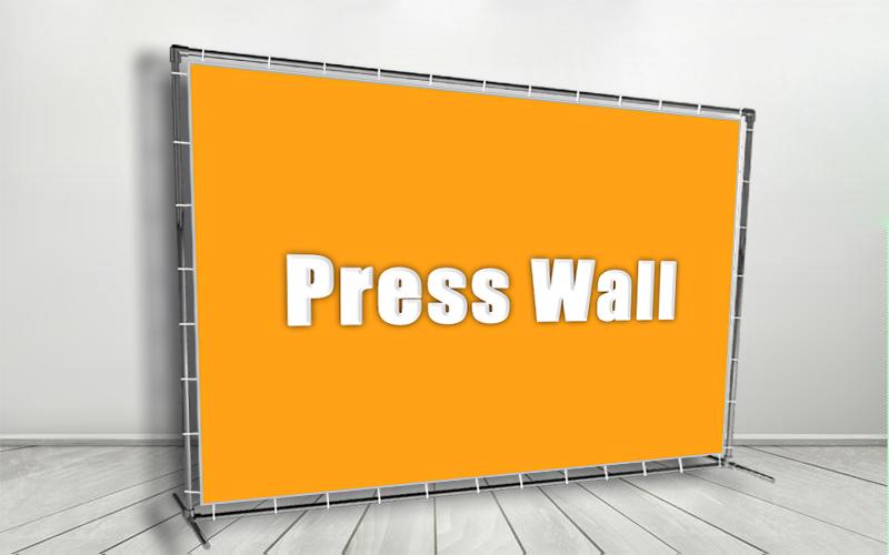Пресс волл: для чего он нужен, какие существуют виды и где применяют такие баннеры