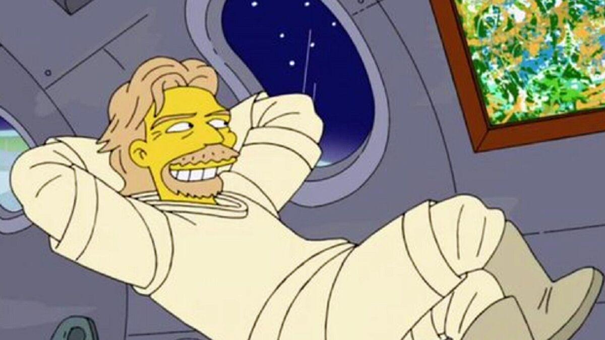 «Симпсоны» предсказали полёт Брэнсона в космос ещё семь лет назад
