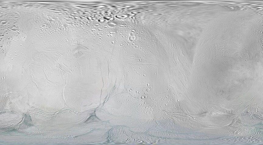 Метан на спутнике Сатурна может говорить о наличии жизни подо льдом