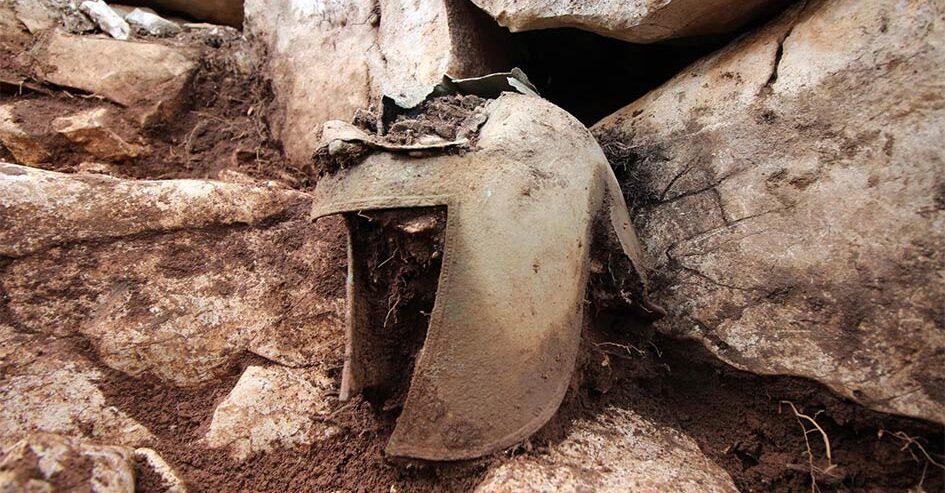 В Хорватии обнаружили древний шлем из бронзы