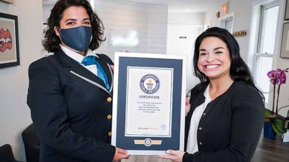Женщина с самым большим ртом в мире попала в Книгу рекордов Гиннесса