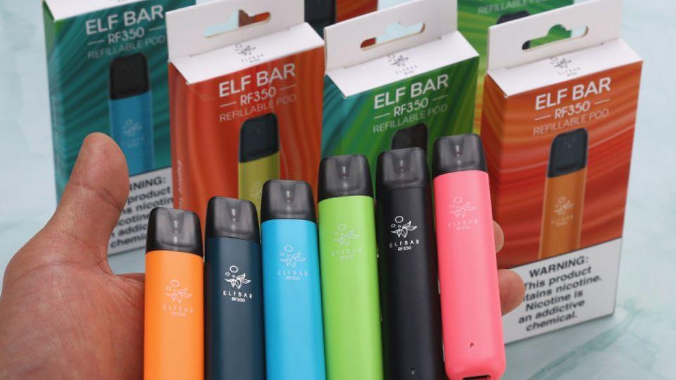 Одноразовые электронные сигареты от производителя ELF BAR