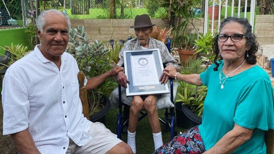 112-летний пуэрториканец стал самым старым мужчиной на Земле
