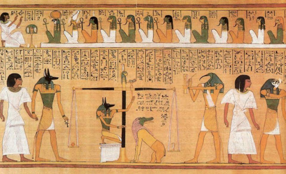 Египтологи соединили разорванный свиток «Книги мертвых» возрастом 2300 лет