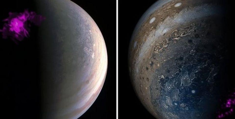 Разгадана тайна полярных сияний на Юпитере