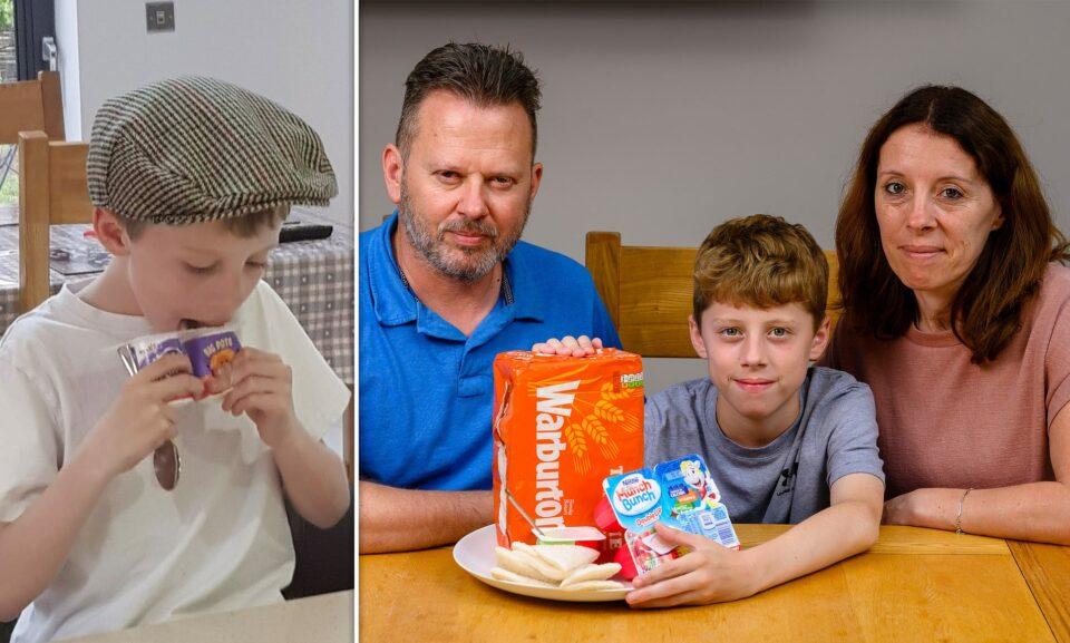 Мальчик из-за редкой фобии ест только йогурты и белый хлеб