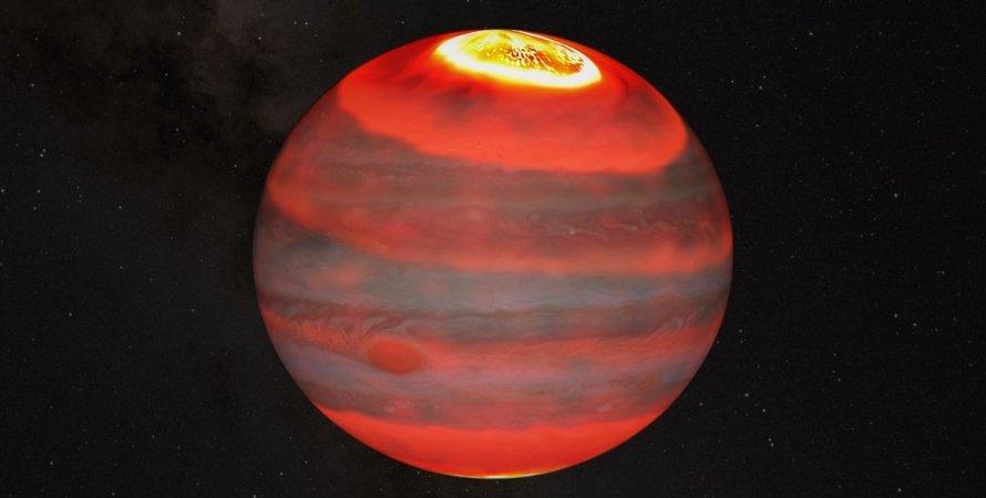 Раскрыта причина аномальной жары на Юпитере