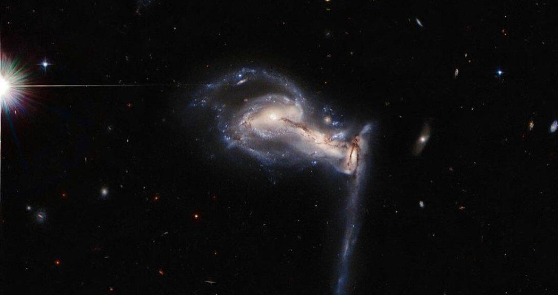 Изображения Хаббла показали, что в будущем ждет на Млечный Путь
