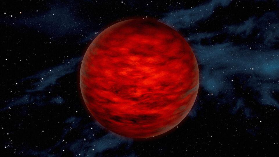 Недалеко от Земли нашли наполовину планету, наполовину звезду