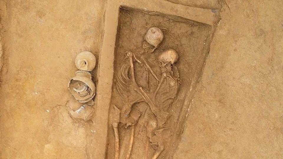 Любовь навеки: в Китае обнаружили парное захоронение