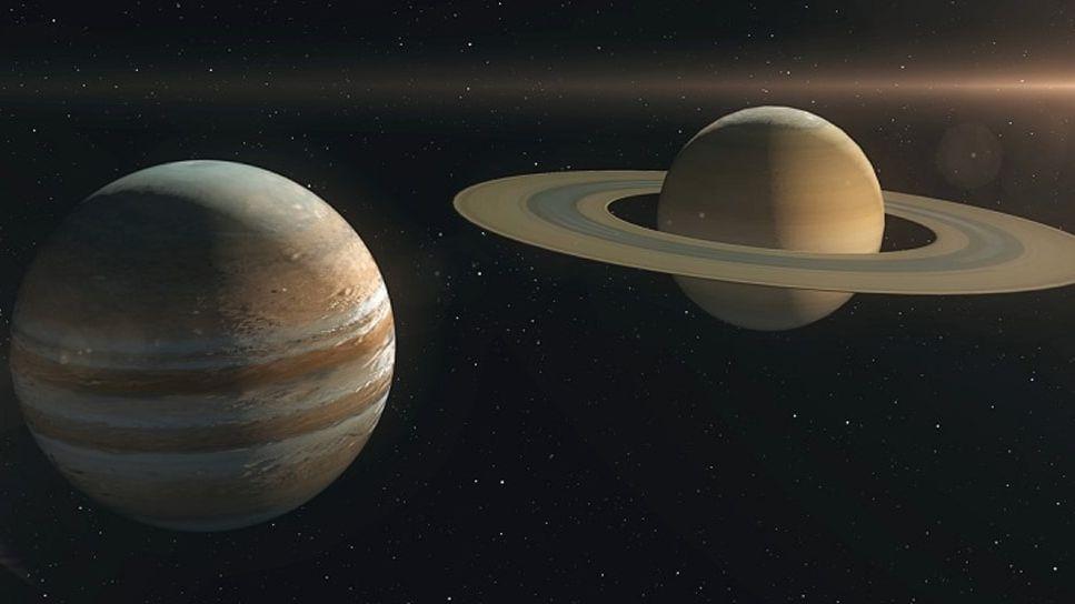 Астрофизик рассказал, что будет, если столкнутся Юпитер и Сатурн
