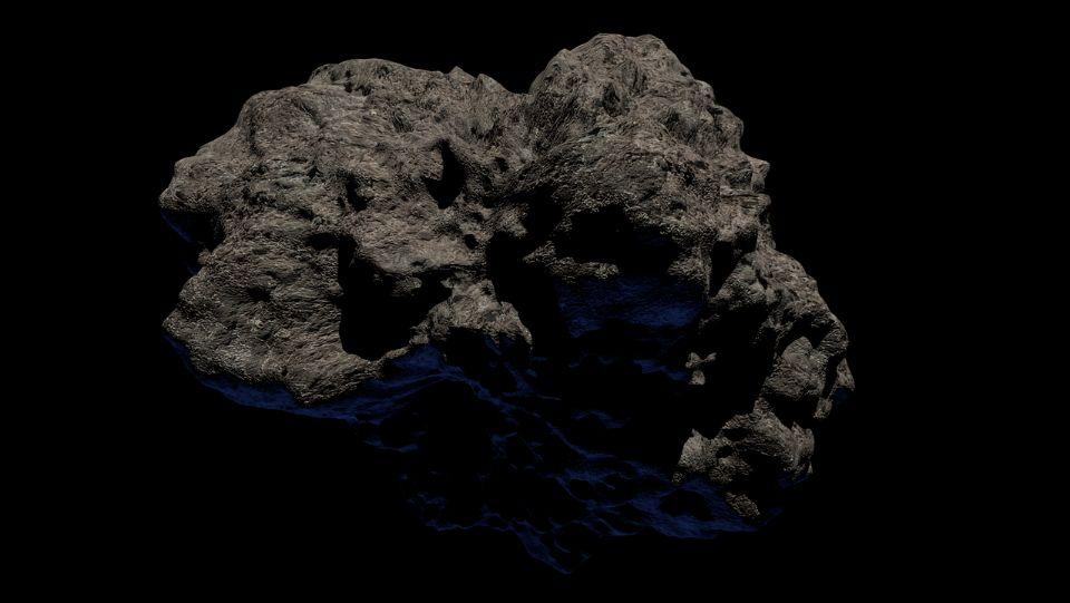 В поясе астероидов замечены скалы, которых там не должно быть