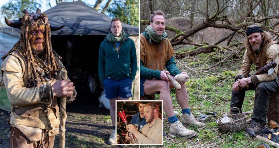 Британец отказался от современных удобств, чтобы жить как пещерный человек