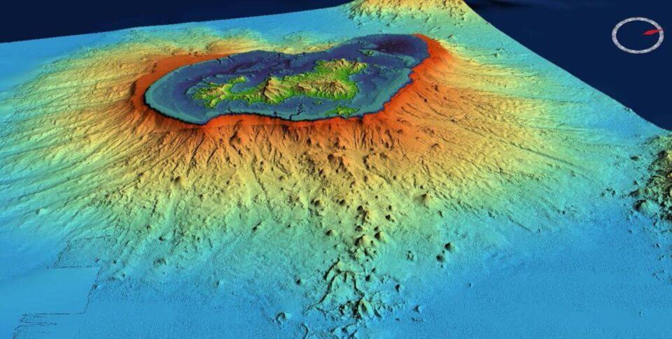 Выше Кракатау: на Земле появился новый подводный вулкан