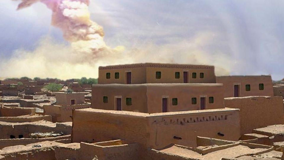 Удар из космоса уничтожил библейский город Содом: найдены доказательства