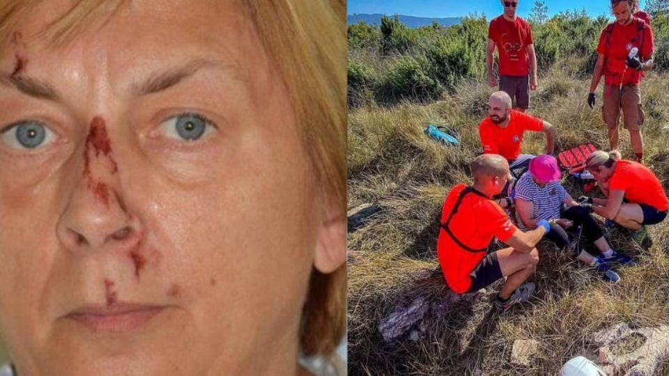 На хорватском малолюдном острове нашли окровавленную женщину