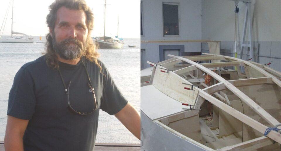Моряк собирается отправиться в путешествие вокруг света на самодельной лодке