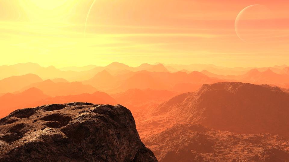 Марс с самого начала был обречен превратиться в пустыню