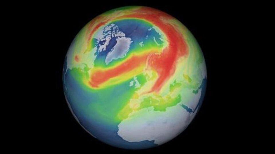 Названа причина образования огромной озоновой дыры над Арктикой